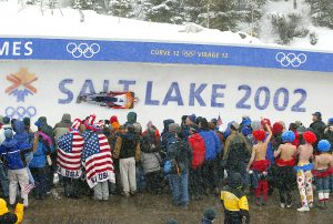 63 – The Olympic Games, Salt Lake City, Utah 2002