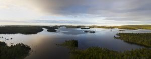 698-699 – Lake Inari in Lapland (3rd largest lake in Finland)