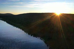 804  – Huttujärvi lake around 3 am in the morning