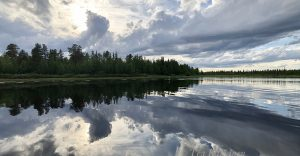 8499+8500 – Porttipahta is an artificial lake in Finnish Lapland