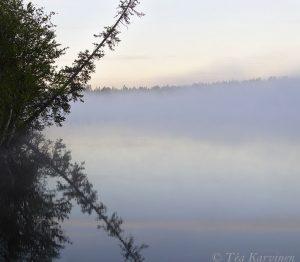 9081-9083 – Huttujärvi lake around 3 am in the morning