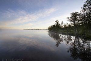 9090 – Huttujärvi lake around 3 am in the morning