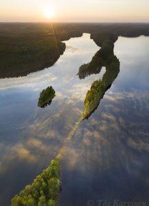 190-192 – Petkeljärvi National Park next to the Russian border