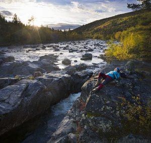603-604 – Tsarssijoki river in Kevo Strict Nature Reserve, Utsjoki