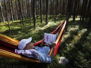 2750 – Relaxing on the island of Lietsaari in Päijänne National Park