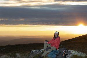 7724 –  A sun set in Pallas-Yllästunturi National Park