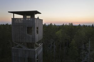 90 – One of the highest places in western part of Finland (the top of Lauhanvuori NP)