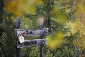 2787 – On the way to Korvatunturi, the home of Santa Claus (on No Man's Land between Russia & Finland)