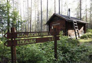 9330 – wilderness cabin of Alavalkeinen