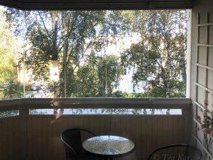 photo of the week 35 – My small balcony in Rovaniemi