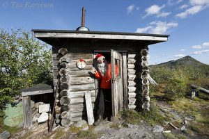 photo of the week 36 – The Santa Claus was at home in Korvatunturi (the wilderness area on No Man's Land between Russia and Finland)