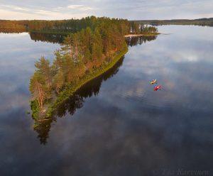 14-15 – Kayaking in Tiilikkajärvi National Park
