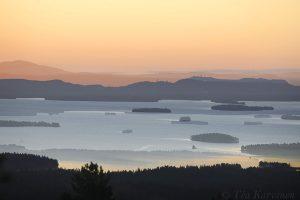 3114 – A double exposure of Kitkajärvi lake taken from Riisitunturi fell