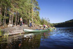 5465 – Camping on Pitkäsaari island