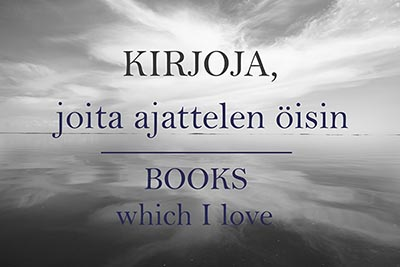 Kirjoja, joita ajattelen öisin