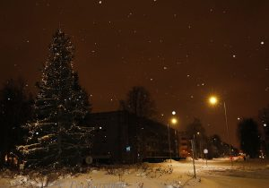 photo of the week 53  – In Rovaniemi, my home city (my home street)