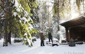 4940 – Töykkölän laavu, a fire place in Töykkälä
