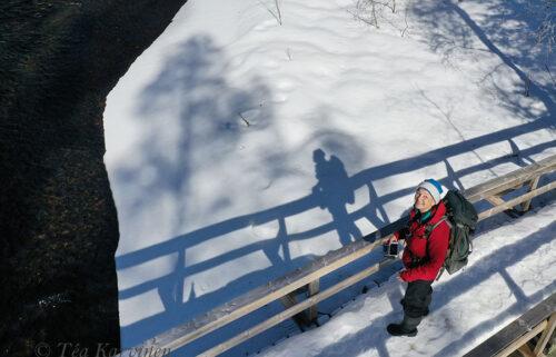 374 – Me, Téa, at Torkonluikea fly fishing rapid
