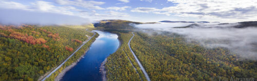 634-636 – Teno river on the border of Finland and Norway