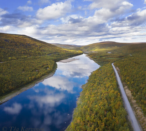 660-661 – Teno river on the border of Finland and Norway