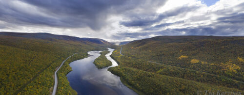 662-664 – Teno river on the border of Finland and Norway