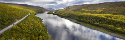682-684 – Teno river on the border of Finland and Norway
