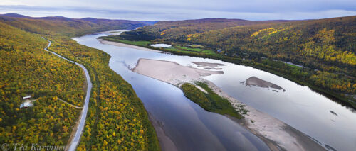 741-743 – Teno river on the border of Finland and Norway