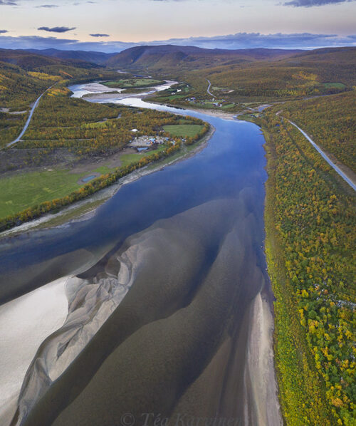 760-762 – Teno river on the border of Finland and Norway
