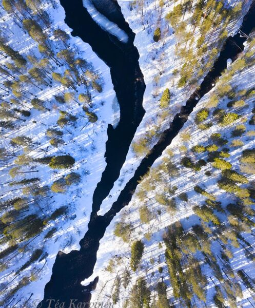 99-100 – At Lounatkoski rapids