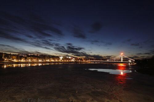 photo of the week 16 – Rovaniemi at midnight