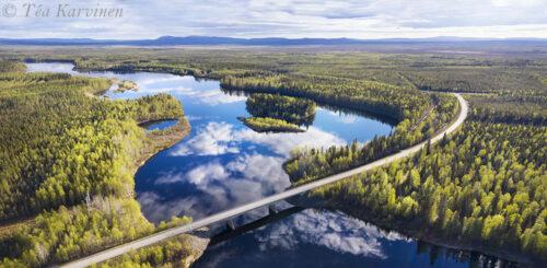 107-108 – River Kitinen in Pelkosenniemi, Lapland