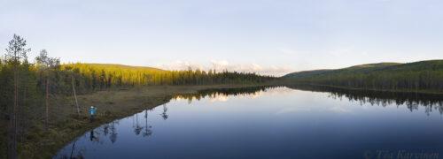 351-354 – Koutolampi at a new national park of Finland: Sallatunturi