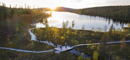 576-576 – Tunturilammit at a new national park of Finland: Sallatunturi
