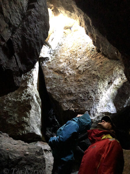 2333 – An ice cave of Korkia-Maura (there is ice during the summer, too!)
