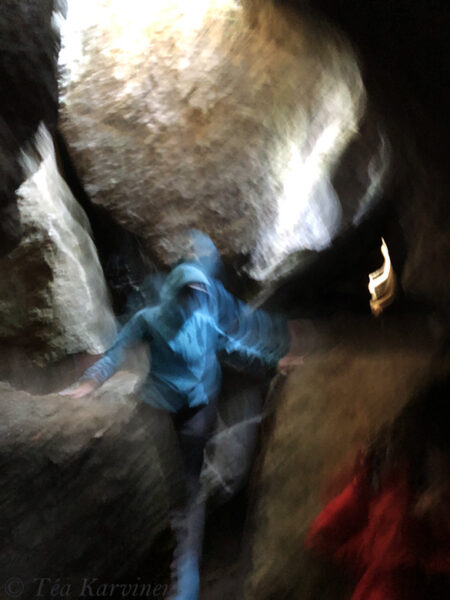2340 – An ice cave of Korkia-Maura (there is ice during the summer, too!)