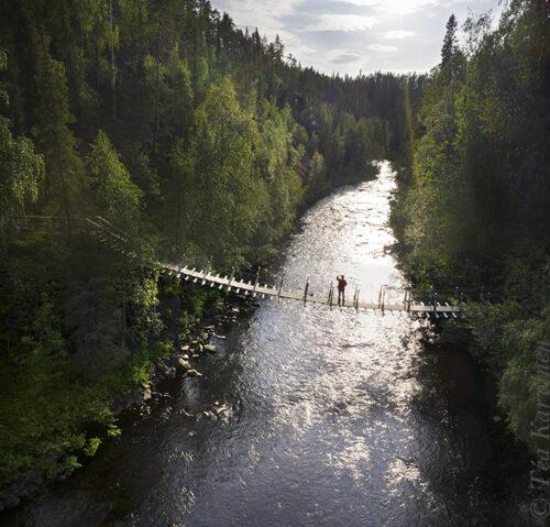photo of the week 29 – Oulanka canyon in Oulanka National Park