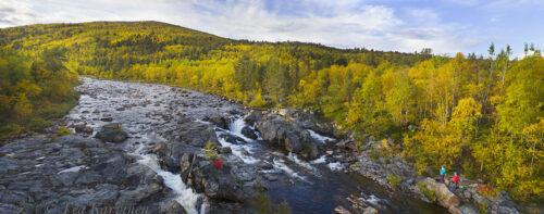 549+551 – Tsarssi waterfall in Kevo Strict Nature Reserve (Tsarssin putous Kevon luonnonpuistossa)