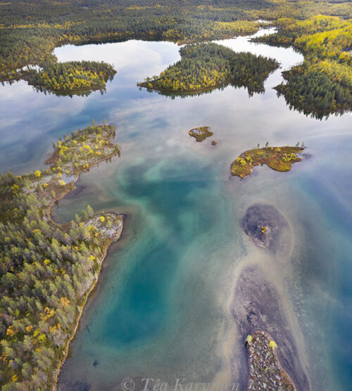 26-28 – In the wilderness of Värtsäri (panorama of 3 images)