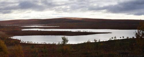 288-291  – Tsuomasjärvi lake (last night when starting @ Sevettijärvi, Inari)