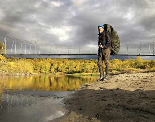 4232 – It is done! (About 75 km hiking alone from Sevettijärvi, Inari to Pulmankijärvi, Utsjoki) – Photo by Tarja Länsman